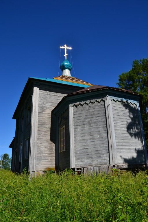 Церковь Спаса Преображения (?), Погост (Воезеро)