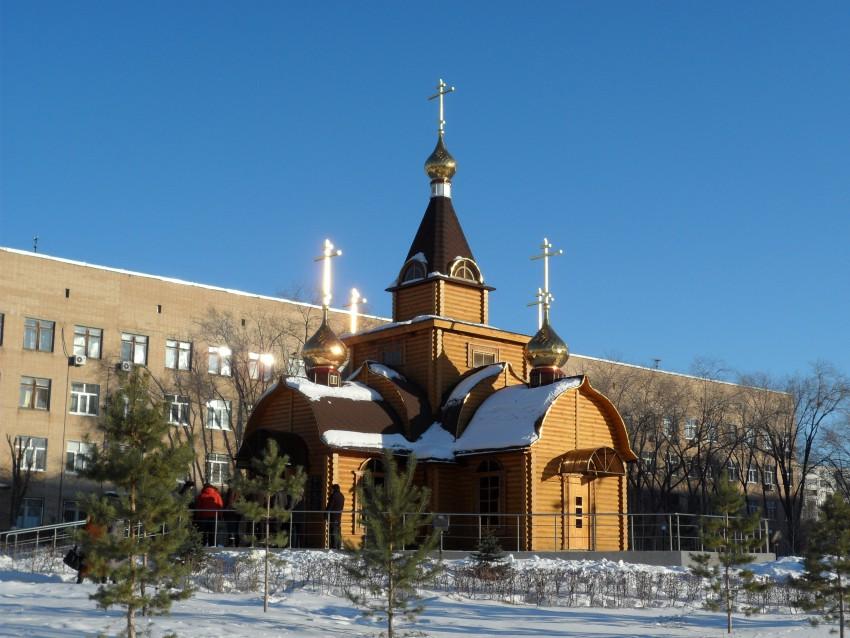 Часовня Димитрия Солунского при Городской клинической больнице №1, Оренбург