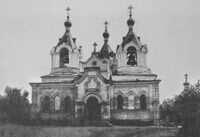Церковь Всех Святых на старом городском кладбище, Самара