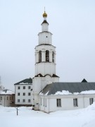 Пригородная слободка. Рыльский Николаевский мужской монастырь. Колокольня