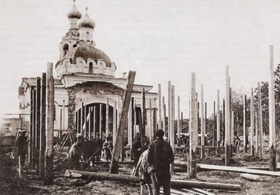 Церковь Смоленской иконы Божией Матери, Караваево