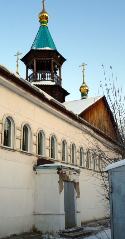 Церковь Всех Святых, Новосибирск