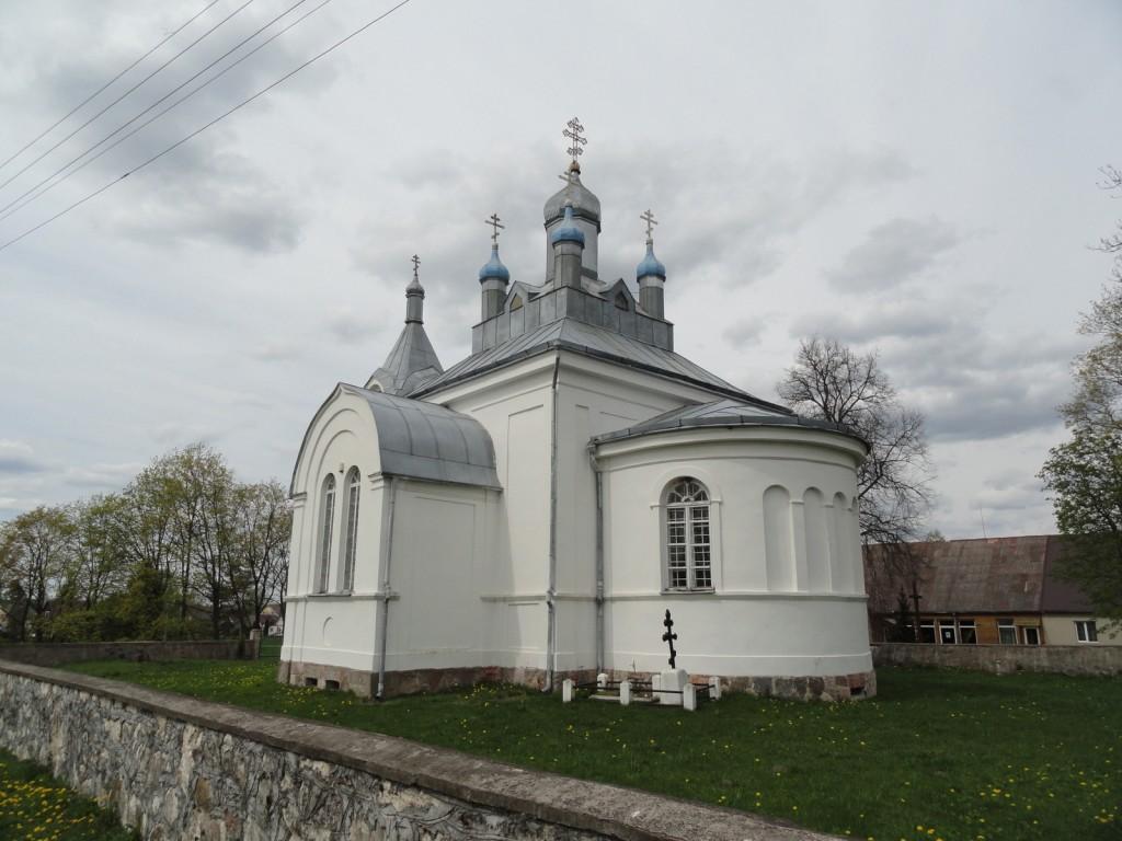 Церковь Александра Невского, Ужусаляй