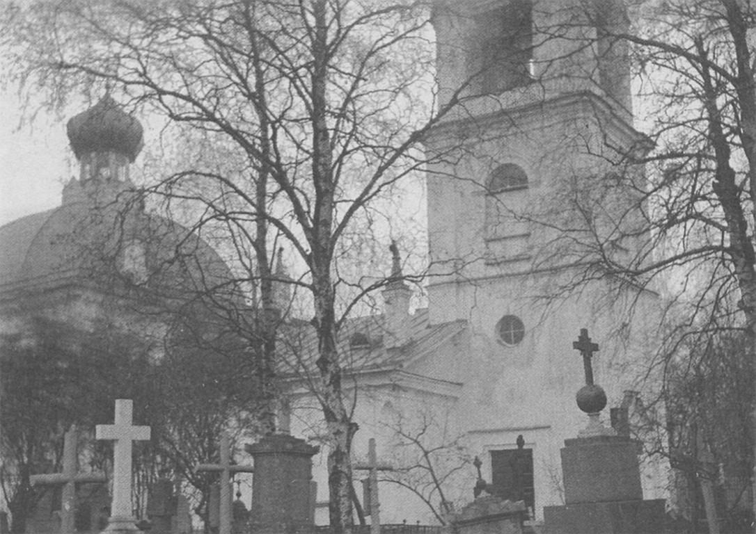 Церковь Спаса Преображения в селении Императорского Фарфорового завода, Санкт-Петербург