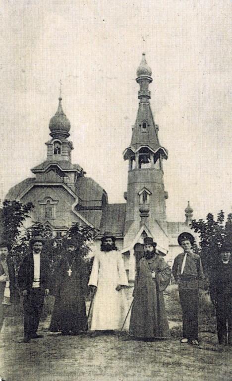 Церковь Пантелеимона Целителя, Тинаки