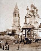 Вахруши. Вознесения Господня (старая), церковь