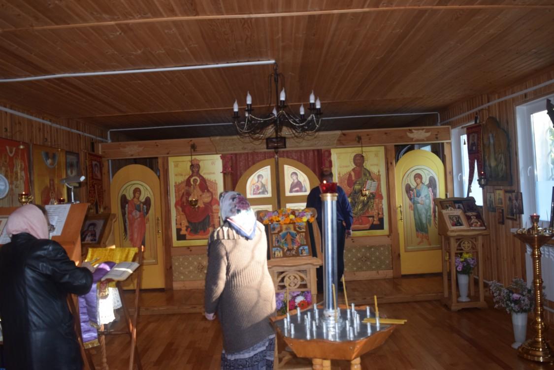 Церковь Державной иконы Божией Матери, Попелево