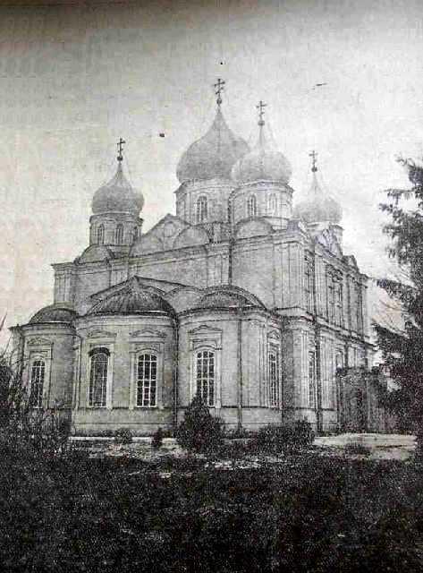 Богородичный Всехсвятский женский монастырь, Болхов
