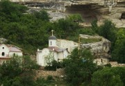 Успенский мужской монастырь. Церковь Георгия Победоносца - Бахчисарай - Бахчисарайский район - Республика Крым
