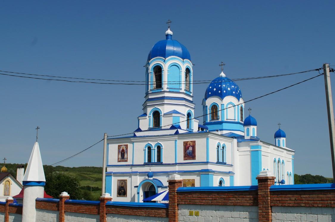 Покровский Эннатский мужской монастырь. Собор Покрова Пресвятой Богородицы, Новомихайловка