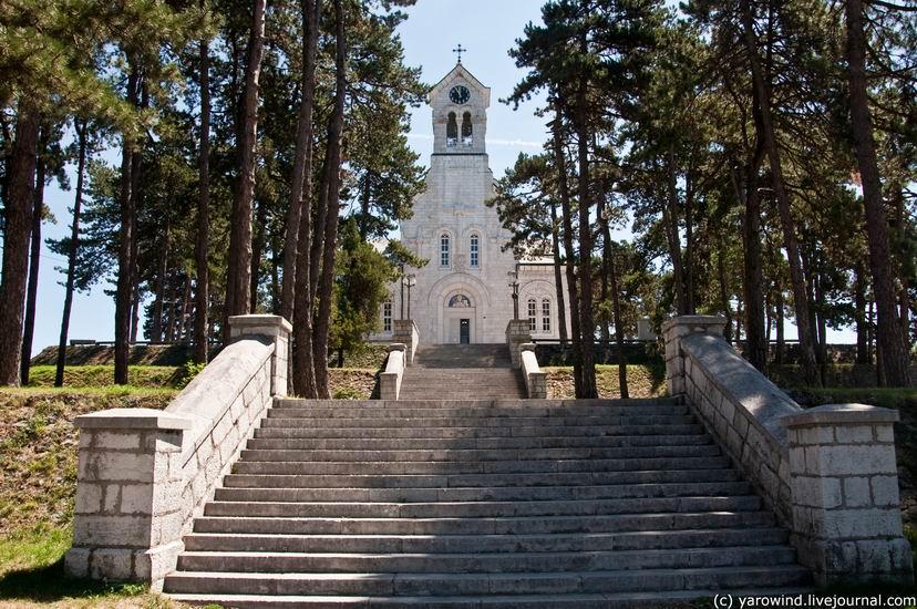 Церковь Василия Острожского, Никшич