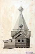 Неизвестная церковь - Росляково - Пудожский район - Республика Карелия
