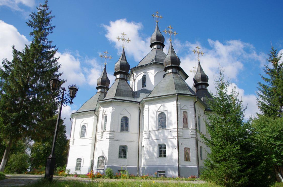 Свято-Георгиевский мужской монастырь на Казацких могилах. Церковь Георгия Победоносца, Пляшева