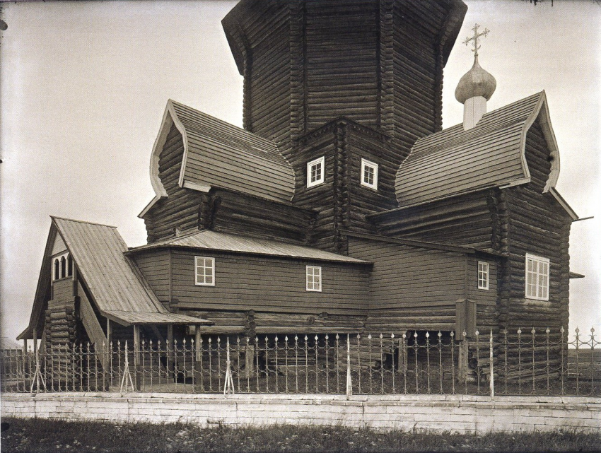 Церковь Вознесения Господня, Конецгорье