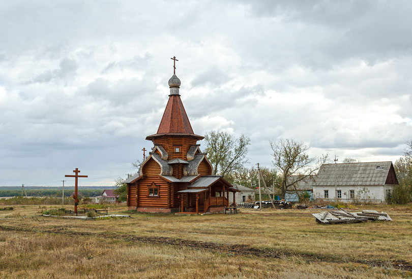 Церковь Николая Чудотворца-Коростелево-Мучкапский район-Тамбовская область