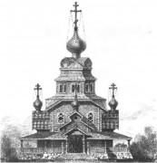 Церковь Петра Апостола - Петровский Ям, урочище - Сегежский район - Республика Карелия