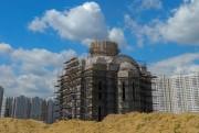 Некрасовка. Покрова Пресвятой Богородицы на Люберецких полях (строящаяся), церковь