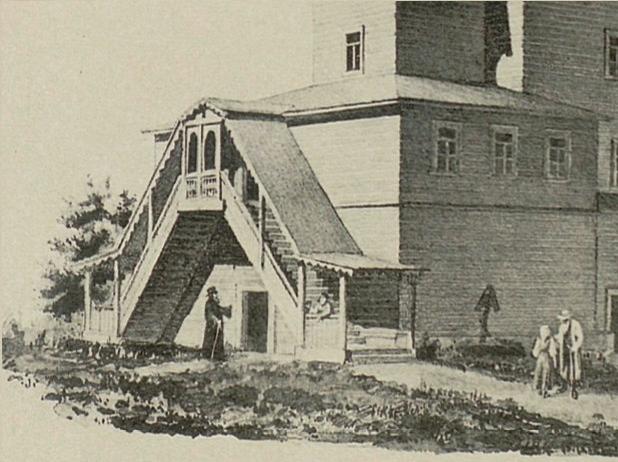 Церковь Троицы Живоначальной, Шеговары