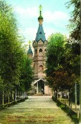 Кронштадт. Троицы Живоначальной (новая) на военно-морском кладбище, церковь