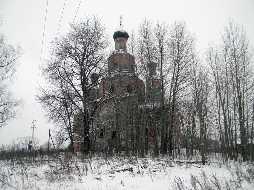 Церковь Спаса Преображения-Писчугово-Комсомольский район-Ивановская область