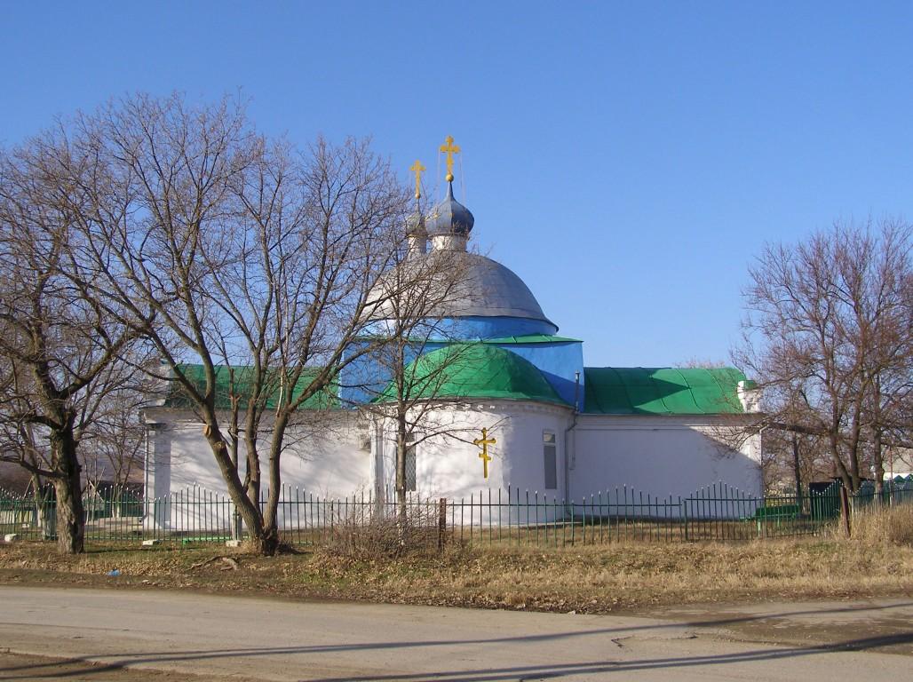 Церковь Алексия, человека Божия, Александровка