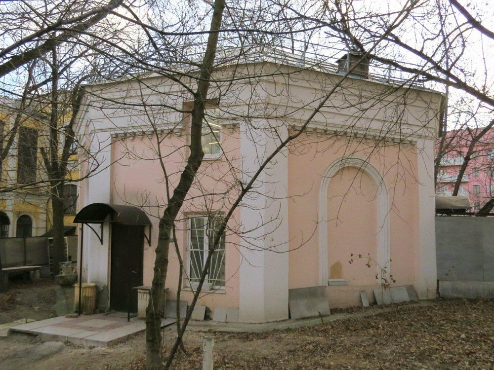 Часовня Александры Римской (Александра Невского (?)) при Ермаковской Богадельне, Москва