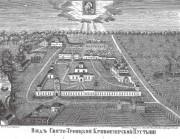 Троицкий Кривоезерский мужской монастырь - Кривоезерская Пустынь, урочище - Юрьевецкий район - Ивановская область