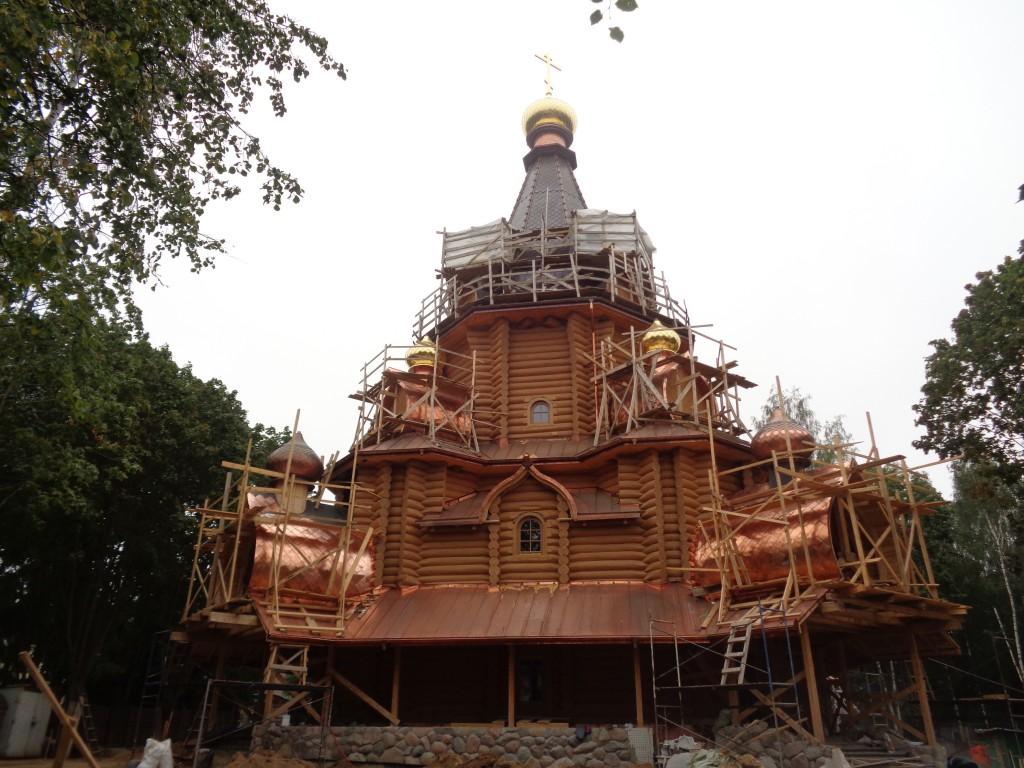 Елизаветинский женский монастырь. Церковь Иоанна Шанхайского и Сан-Францисского (строящаяся), Минск