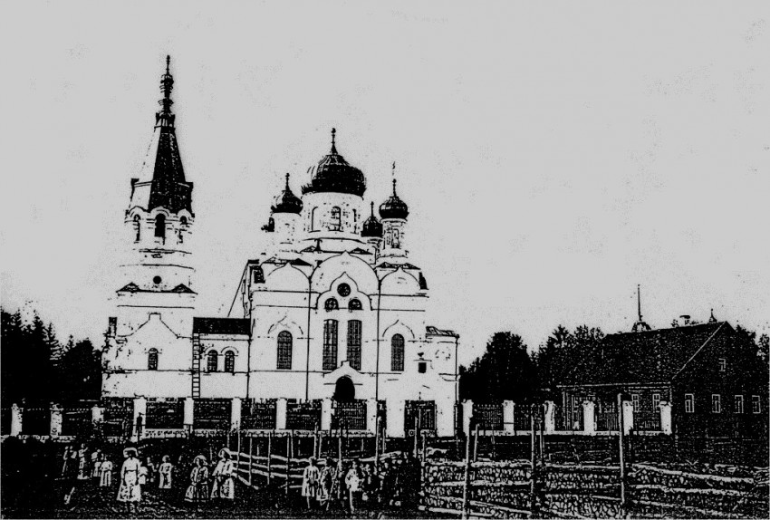 Церковь Спаса Преображения, Оксочи