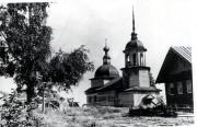 Церковь Флора и Лавра - Астафьево, урочище - Каргопольский район - Архангельская область