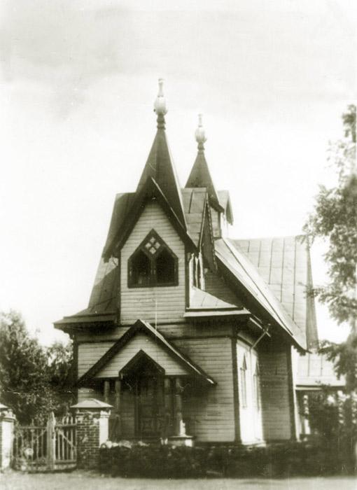 Церковь Андрея Первозванного, Замостье
