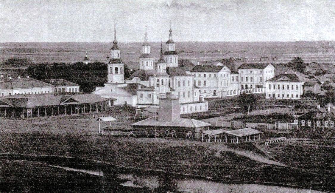 Церковь Воздвижения Креста Господня, Сольвычегодск