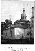 Церковь Введения во храм Пресвятой Богородицы - Шкнятино, урочище - Солецкий район - Новгородская область