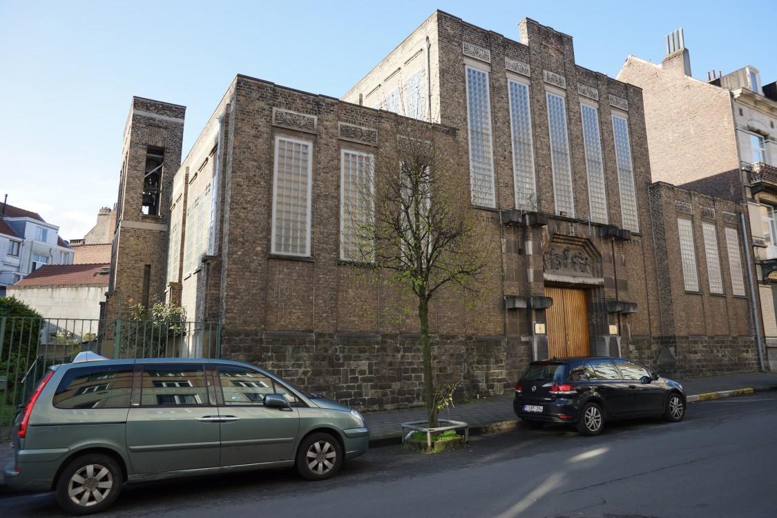 Церковь Саввы Сербского, Моленбек-Сен-Жан