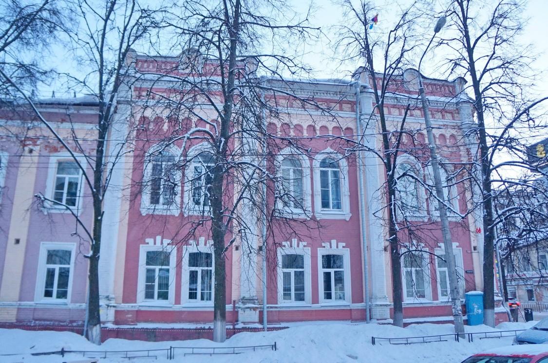 Домовая церковь Вознесения Господня и Александра Невского при Александровской богадельне, Нижний Новгород