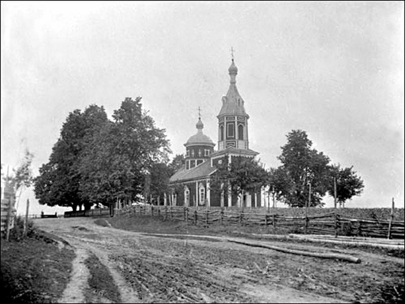Церковь Покрова Пресвятой Богородицы, Ратутичи