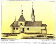 Церковь Рождества Пресвятой Богородицы - Голянищево - Вачский район - Нижегородская область