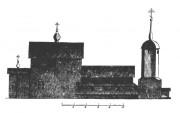 Церковь Воскресения Христова (деревянная) - Бурцево - Балахнинский район - Нижегородская область