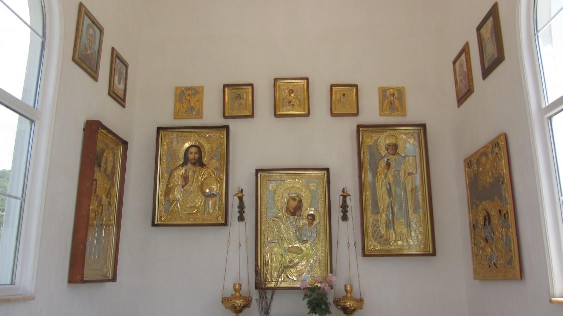 Часовня Алексия, митрополита Московского, Широкая балка