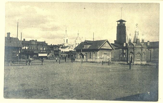 Фото базарной площади