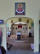 Булзи. Покрова Пресвятой Богородицы (временная), церковь