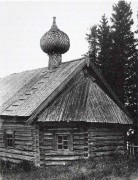 Церковь Петра и Павла - Водлозерский Пречистенский погост, урочище - Пудожский район - Республика Карелия