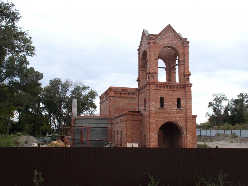 Церковь Бориса и Глеба (строящаяся), Саратов