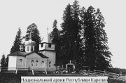 Неизвестная церковь - Крюкова-Сельга, урочище - Прионежский район - Республика Карелия