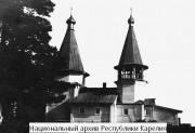 Церковь Николая Чудотворца на Брусинском острове - Брусно, остров - Прионежский район - Республика Карелия