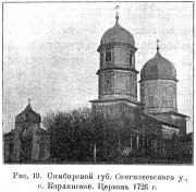 Церковь Покрова Пресвятой Богородицы (старая) - Карлинское - Майнский район - Ульяновская область