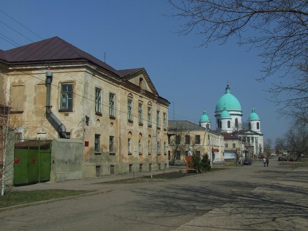 Церковь Константина и Елены при общественной богадельне, Моршанск