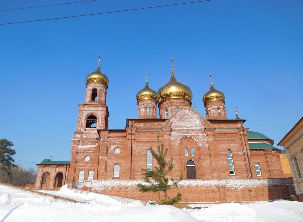 Воскресенский мужской монастырь. Церковь иконы Божией Матери