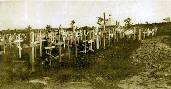 Неизвестная церковь на Братском военном кладбище (старая), Минск