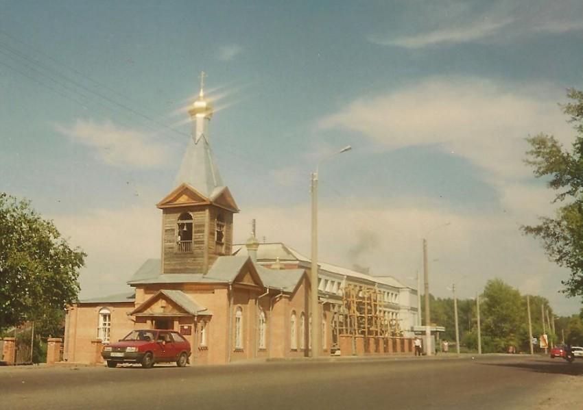 Церковь Трех Святителей (старая), Красноярск
